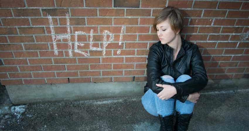 Teens Who Self-Medicate  Troubled Teens