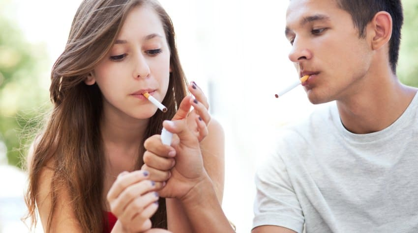Teens And Smoking  Troubled Teens